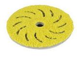 Rupes Mikrofaser Polierpad, medium,  150-170mm Durchmesser, gelb