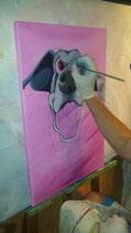 Malen im Atelier mit Anleitung exkl. Material 90 Minuten