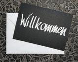 "Grusskarte ""Willkommen"""