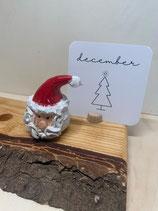 Keramiek steker | kerstman  |   €12,95