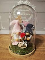 Cloche Lutins/Gnomes St Valentin