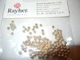 Plastik-Rundperle 3mm gold