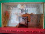 Geldgeschenk- Kasse Nähmaschine