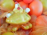 Huhn breitbeinig