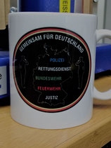 """Kaffeetasse """"Gemeinsam für Deutschland"""""""