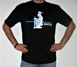 "T-Shirt mit großem Frontpatch ""Ritter"""