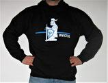 """Hochwertiges Kapuzensweatshirt mit Motiv """"Ritter"""" als Frontpatch"""