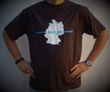 """T-Shirt mit großem Frontpatch """"Deutschland"""""""