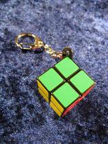 Zauberwürfel 2x2x2 als Schlüsselanhänger (Kategorie: Mittelschwer) - NEU