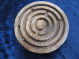 Holzlabyrinth rund (Kategorie: Leicht) - NEU