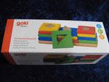Sortierspiel Farben und Formen, Goki basic.