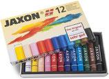 Jaxon Pastell-Ölkreide sort. 12er