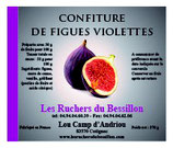 Confiture de figues violettes 370 g.