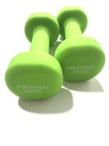 Green Pair Of Dumbbells 2 kg