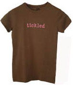 """tickled"" Pink Tee*"