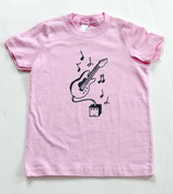 Jammin' Electric Guitar Pink Short-Sleeved Tee*
