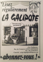 Abonnement journal La Galipote