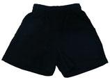 Pantalón corto en marino
