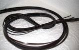 10 Lederbänder schwarz/ braun