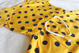 Jurkje | Spotty dress (geel/zwart)