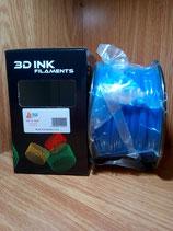 PLA azul 3 mm.