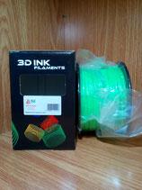 PLA verde 3 mm.