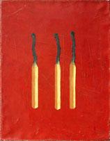 Drei Streichhölzer