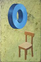 Stuhl und Scheibe