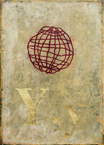 Weltkugel und Y, y,