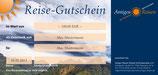 Amigos Reisen Gutschein 100 €