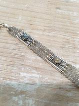 Bracelet manchette Pierre de lune