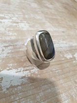 Bague Labradorite rectangle