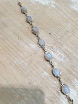 Bracelet Pierre de lune cabochon
