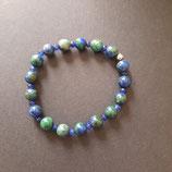 Armband dunkelblau/grün