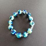 Armband türkis/blau/ hellgrün