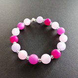 Armband rosa/pink/fuchsia/lila
