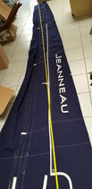 LAZY BAG JEANNEAU BLEU MARINE 540CM TECHNIQUE VOILE