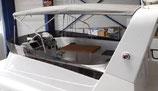 SWIFT TRAWLER 50 COQUE SUPERIEURE A 42 BIMININ DE FLY AVEC ARCEAU