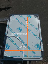 panneau de pont fixe plexiglass uv