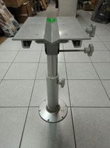 Pied pour siège pilote pour bateau / ajustable / en métal