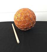 Gartenkugel orange