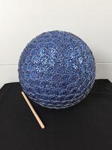 Gartenkugel blau