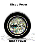 Chunky cosmetic Glitters  von Paint Glow