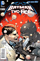 NEW 52 BATMAN AND TWO-FACE