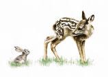 "Postkarte ""Bambi"""