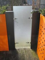 Stele Modular - 4 Glasbodenträger für Scheibe