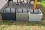 Hochbeet Urban 0,75 x 1,5 m - lackiert