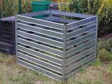 Komposter XXL aus Metall 1 x 1 x 1 Meter