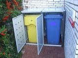 Türanschlag Links für Mülltonnenbox pro Tür