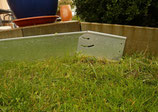 Rasenkanten Gefälleprofil variabel 1 stück 20cm x 12 cm x 0,95 mm